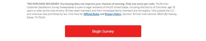 Chilis survey button